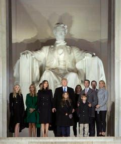 Die Trump-Familie. (Bild: Keystone)
