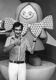 Mit der Sendung «Teleboy» wurde Kurt Felix zum grossen TV-Star. (Bild: Keystone)