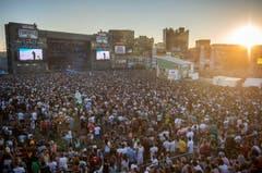Das Festivalgelände während des Konzerts von Cypress Hill. (Bild: Reto Martin)