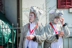 Groppenfasnacht Ermatingen 2017 (Bild: Andrea Stalder)