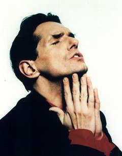 Undatiertes Bild des österreichischen Sängers Falco. (Bild: Keystone)