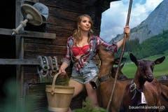 Alexandra Iseli aus dem Kanton Bern. (Bild: www.bauernkalender.ch)