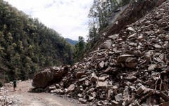 Earthquake aftermath in Nepal (Bild: Keystone)