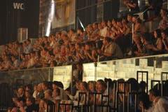 Die Veranstalter haben bis anhin über 11'000 Tickets abgesetzt. (Bild: Hanspeter Schiess)