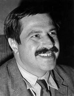 Günter Grass 1965 in Berlin. (Bild: Keystone)