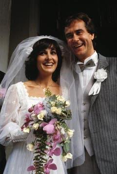 Ein glückliches Paar: Kurt Felix und seine Frau Paola. (Bild: Keystone)