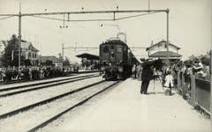 Elektrifikation der SBB 1928. (Bild: Archiv Martin Sax)