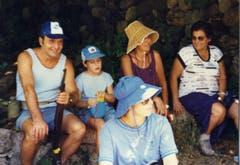 Während eines Ausflugs mit seiner Familie. (Bild: Ueli Eisenhut)