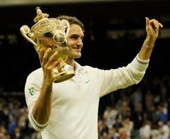 2012 Wimbledon Andy Murray (GBR) 4:6, 7:5, 6:3, 6:4 (Bild: Jonathan Brady / Keystone)