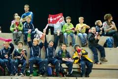 Ob aus ihnen dereinst auch gute Unihockeyaner werden? (Bild: Urs Bucher)