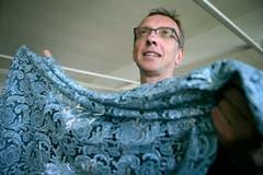 Art Director bei der Forster Rohner AG ist Hans Schreiber. (Bild: Reto Martin)