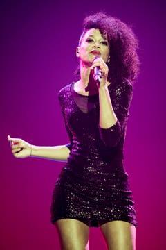 Deborah Bough aus dem Tessin sang ebenfalls vergebens. (Bild: Keystone)