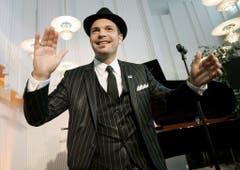 Roger Cicero bei einem Auftritt in Helsinki am 10. Mai 2007. Er nahm für Deutschland am Eurovision Song Contest teil. (Bild: Keystone)