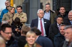 Auch Rorschachs Stadtpräsident Thomas Müller kam nach Romanshorn. (Bild: Reto Martin)