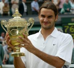2003 Wimbledon gegen Mark Philippoussis (AUS) 7:6, 6:2, 7:6 (Bild: Gerry Penny / Keystone)