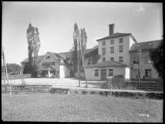 Die Fabrikanlage von aussen im Jahr 1928. (Bild: Bühler AG)