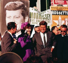Wahlkampf im Oktober 1960 in New York. (Bild: Keystone)