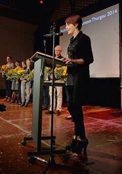 Kategorie Kultur: Martina Dumelin (29) ist seit 2012 Präsidentin der Frauenfelder FilmfreundInnen und damit des Studiokinos Luna. Im September erhielt das Kino den Thurgauer Kulturpreis. (Bild: Reto Martin)
