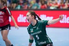 Auch Zerin Oezcelik erzielte vier Tore für den LC Brühl. (Bild: Keystone)