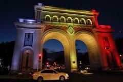 Brussels attacks tribute in Mexico (Bild: Keystone)