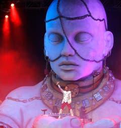 """Ein Schnappschuss anlässlich der """"Fantasy Tour"""" im August 2010. (Bild: Keystone)"""
