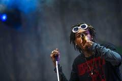 Rap made in USA: Wiz Khalifa. (Bild: Urs Jaudas)