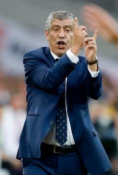 Der Coach von Portugal, Fernando Santos. (Bild: Keystone)