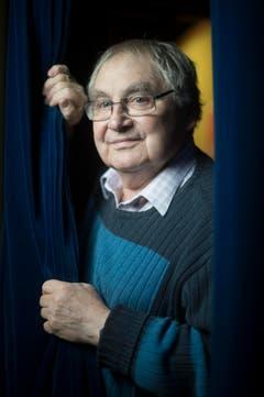 Der letzte Vorhang ist gefallen - Jörg Schneider hat den Kampf gegen den Krebs verloren. (Bild: Benjamin Manser)