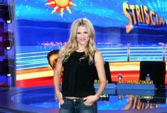"""In Italien ist Michelle Hunziker insbesondere auch wegen ihrer Show """"Striscia la notizia"""" ein Star. (Bild: Keystone)"""