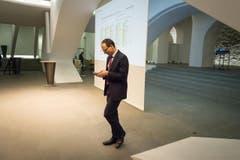 Der neue Regierungsrat Marc Mächler. (Bild: Michel Canonica)