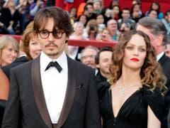 24. Februar 2009: Johnny Depp und Vanessa Paradis erscheinen zur Oscar-Verleihung. (Bild: Keystone)