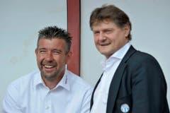 Auf FCZ-Trainer Ancillo Canepa war Urs Fischer nach seiner Entlassung nicht mehr gut zu sprechen. (Bild: Keystone)