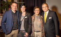 Dani und Daniela Kern mit Margrith und Werner Dickenmann. (Bild: Reto Martin)