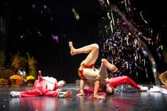 Die Breakdance-Formation Dirty Hands aus dem Gastkanton Zug trat bei der Eröffnungsfeier auf. (Bild: Urs Bucher)