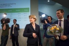 Esther Friedli verpasste die Wahl in den Regierungsrat. (Bild: Michel Canonica)