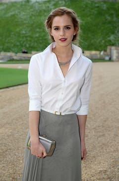 13. Mai 2014: Emma Watson in Windsor. (Bild: Keystone)