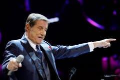 Sein letzter Auftritt in Zürich: Udo Jürgens gastierte am Sonntag, 7. Dezember, im Hallenstadion. Genau zwei Wochen später ist er an einem Herzversagen verstorben. (Bild: Keystone)
