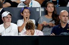 Das Team von Roger Federer. (Bild: Keystone)