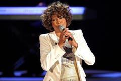 Houston bei einem erneuten Auftritt in «Wetten, dass..?» im Jahr 2009. (Bild: Imago)