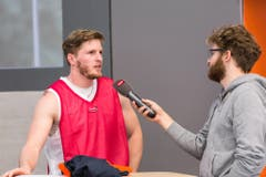 SCB-Captain Michael Plüss im Interview. (Bild: PD/Urs Güttinger)