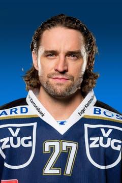 Josh Holden, # 27 / Alter: 34 / Masse: 1,83m, 86kg / Vertrag bis 2014 (Bild: EVZ)