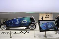 Der neue Toyota Diji (Bild: Keystone)