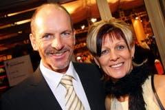 Ex-Skistar Michael von Grünigen mit seiner Ehefrau Anna. (Bild: André Häfliger/Neue LZ)