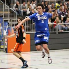 Nicolas Raemy verzielte fünf Treffer. (Bild: Roger Zbinden / Neue LZ)