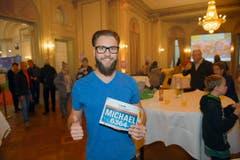 Michael Frischkopf, Malters: «Es ist ein Volksfest, wo man sich trifft und zusammen mit Freunden eine tolle Zeit geniessen kann. Es ist ein richtiges Gruppenerlebnis.» (Bild: Michael Wyss)