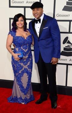 LL Cool J und seine Frau Simone. (Bild: Keystone)