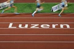 Spitzenleichtathletik in Luzern. (Bild: Philipp Schmidli / Neue LZ)
