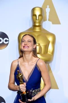 ... und weil es so schön war, nochmal: die strahlende Brie Larson. (Bild: Keystone/EPA/Paul Buck)