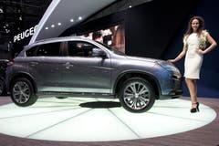 Der neue Peugeot 4008 (Bild: Keystone)
