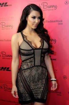 Kim Kardashian im Jahr 2011 in Miami Beach, Florida. (Bild: Keystone)